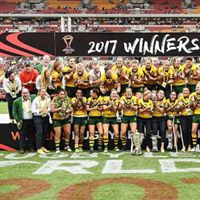 australian womens rugby league winners and physio