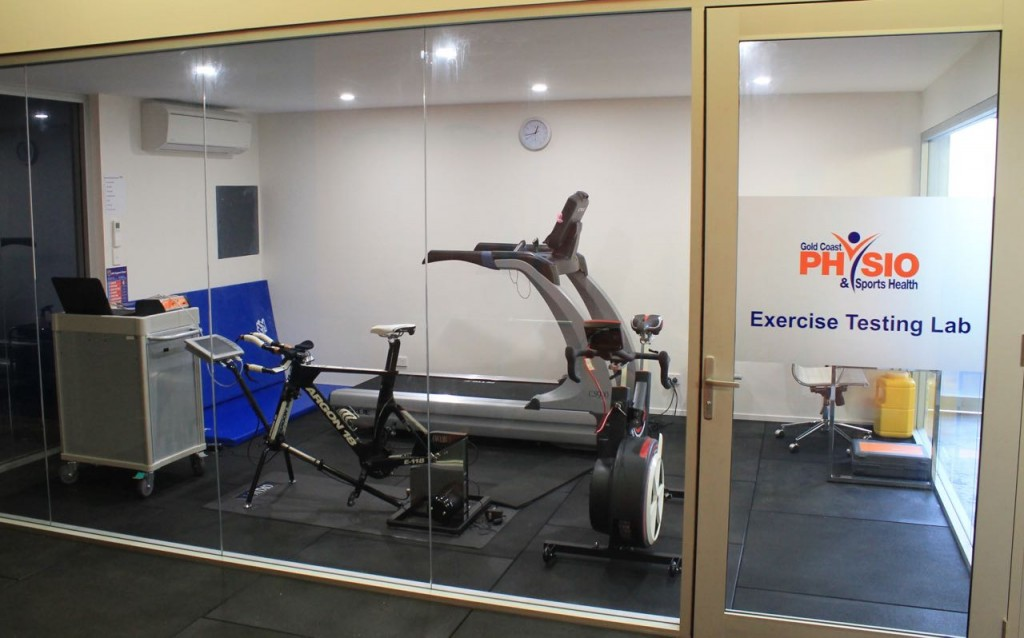 Exercise Test lab at Gold Coast Physio & Sports Health