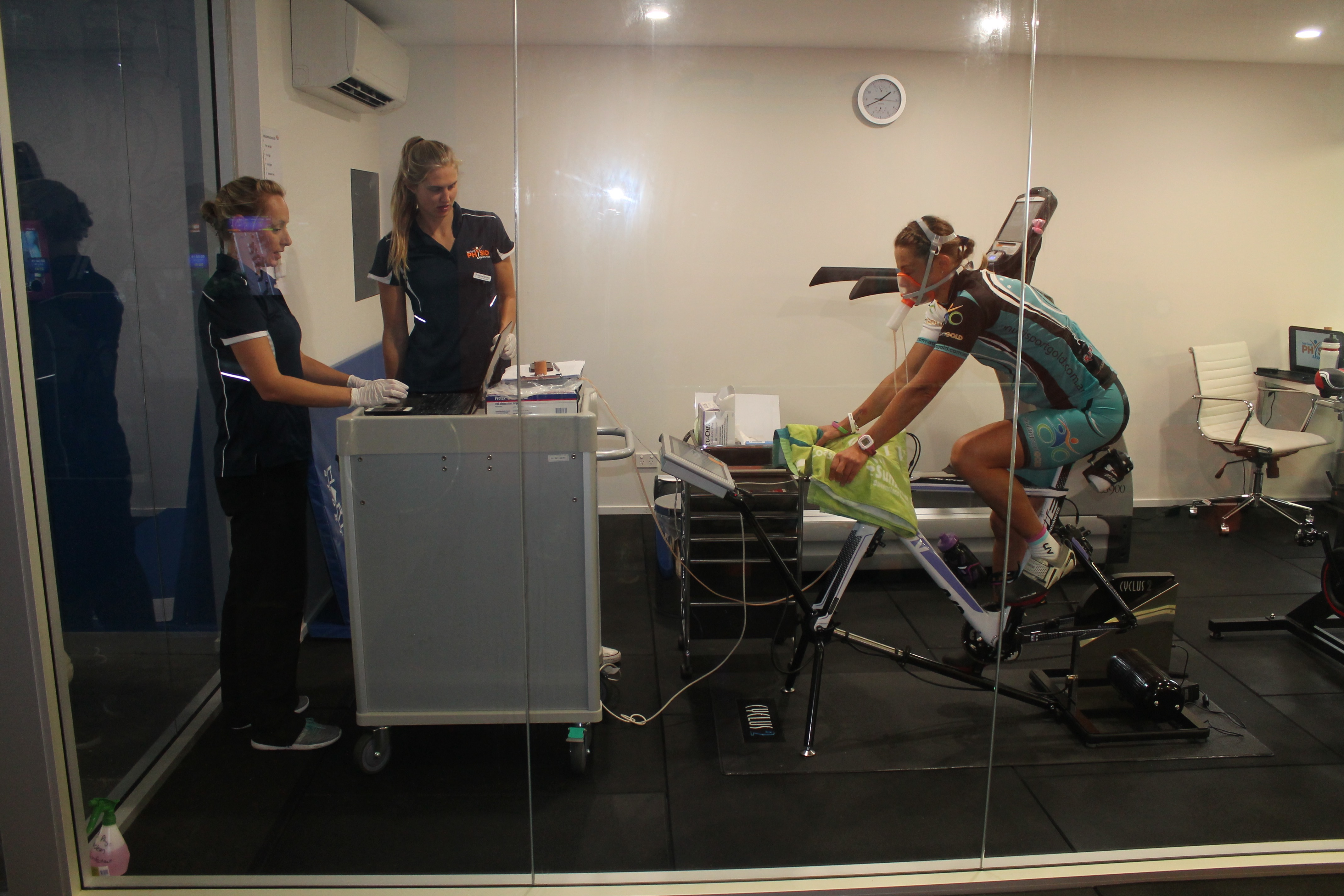 cycle exercise test at gold coast Physio & sports health